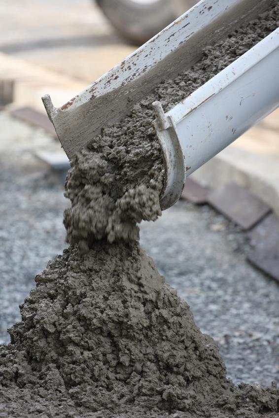 бетон для фундамента забора