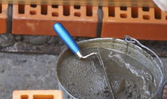 Раствор кладочный цементный
